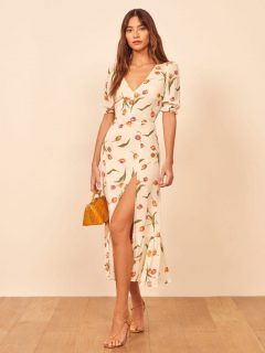 THEREFORMATION Nantes Dress