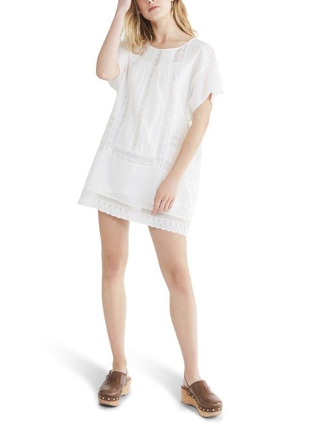 VANESSA BRUNO Cotton Nirvana Short Dress