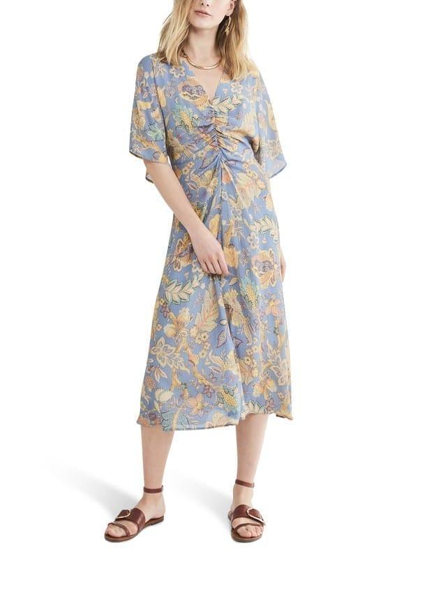VANESSA BRUNO Viscose Ness Long Dress