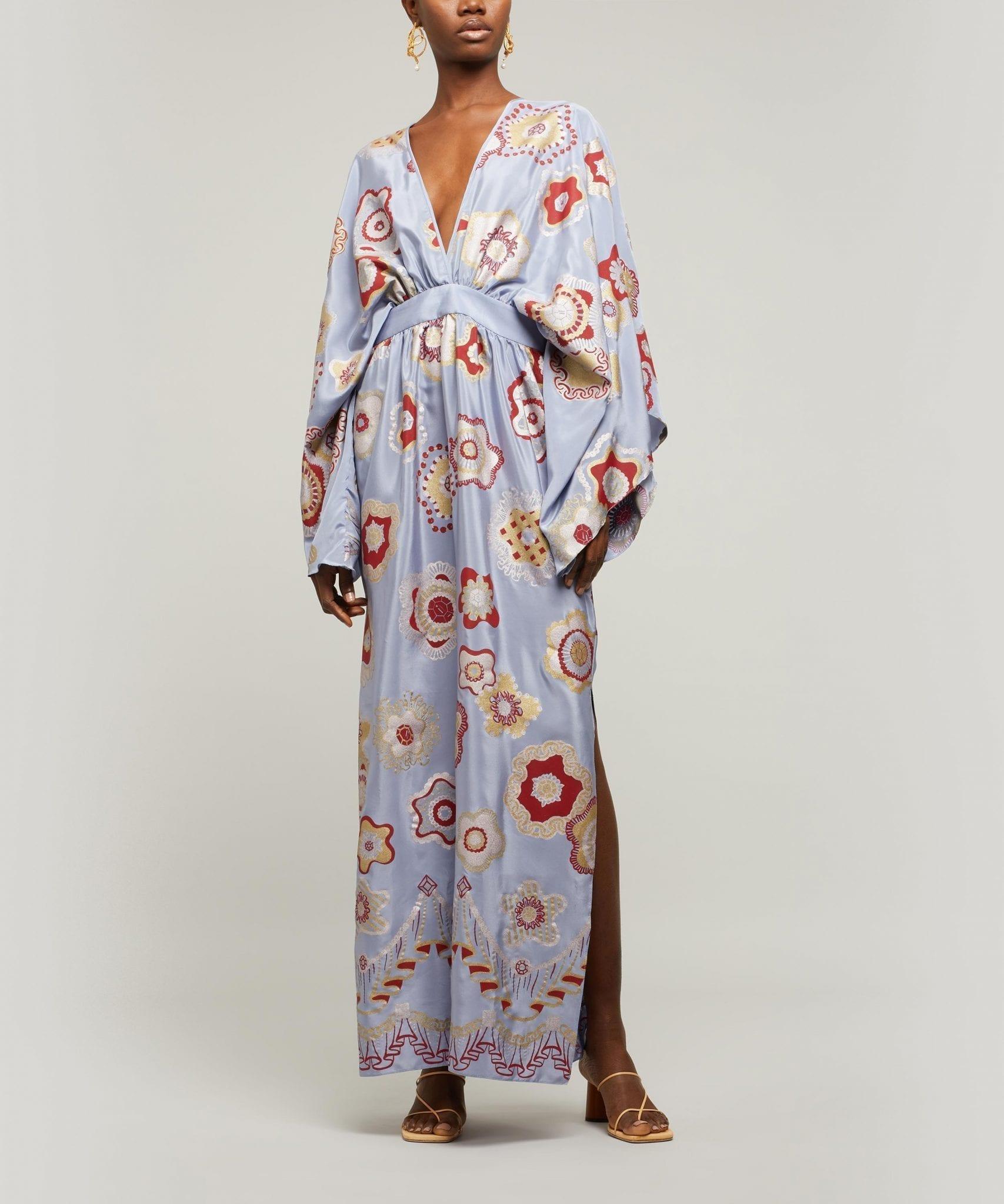 ZANDRA RHODES Jewel Flower Dress
