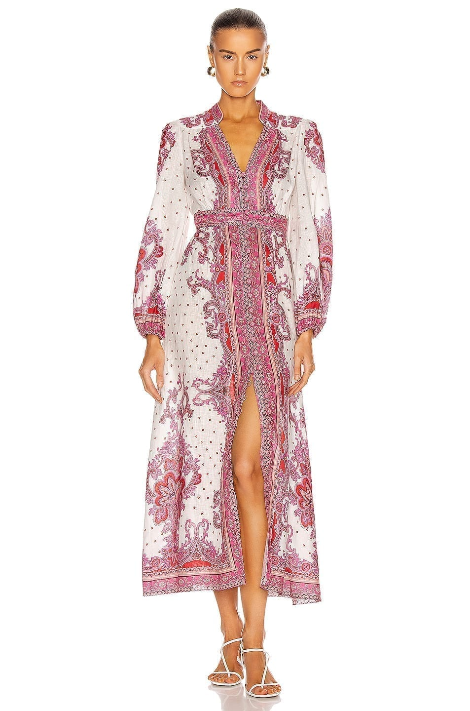 ZIMMERMANN Bells Paisley Long Dress