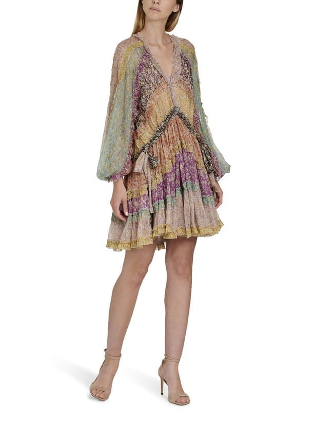 ZIMMERMANN Frill Billow Dress
