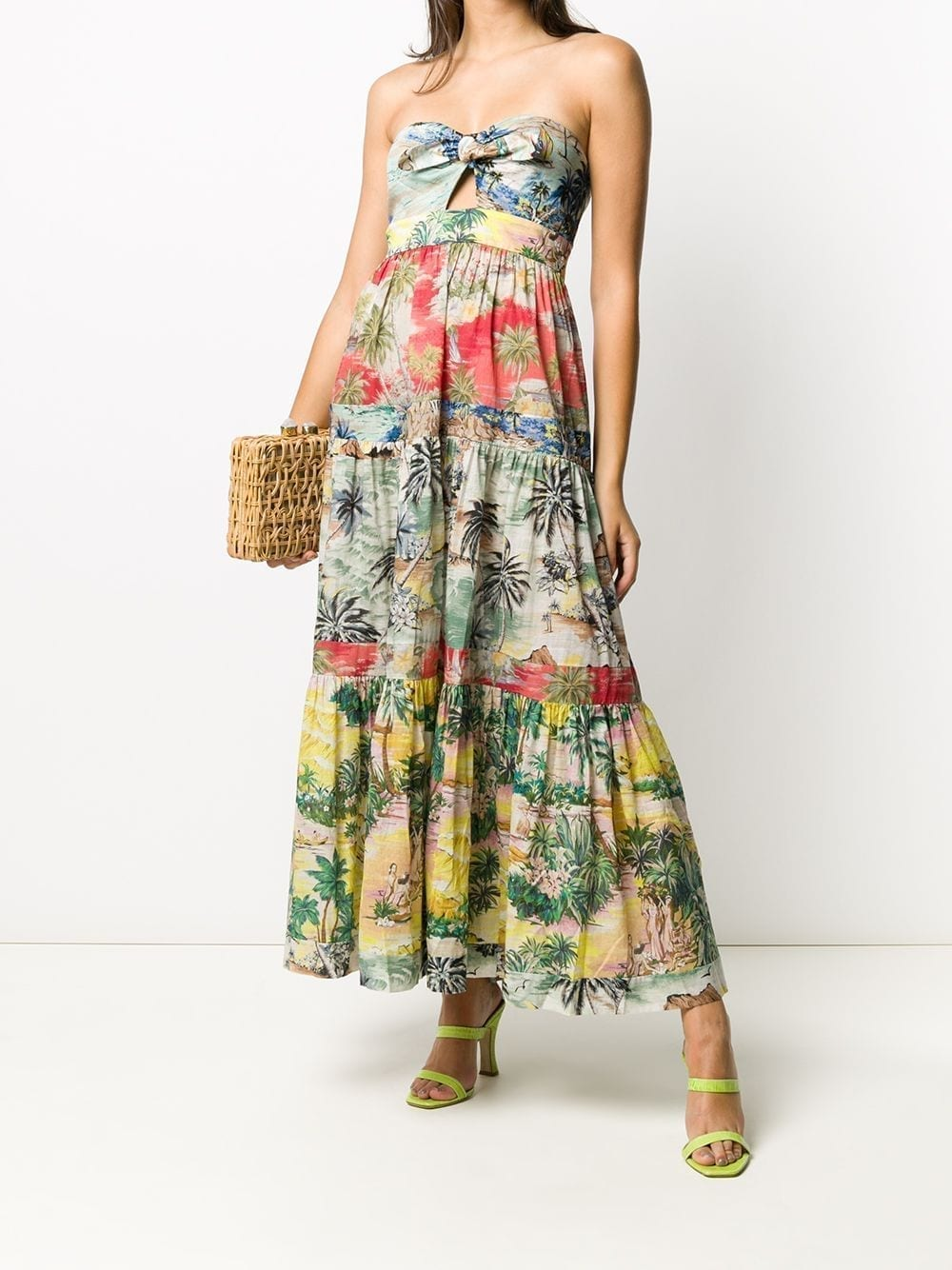 ZIMMERMANN Juliette Tropical-print Dress