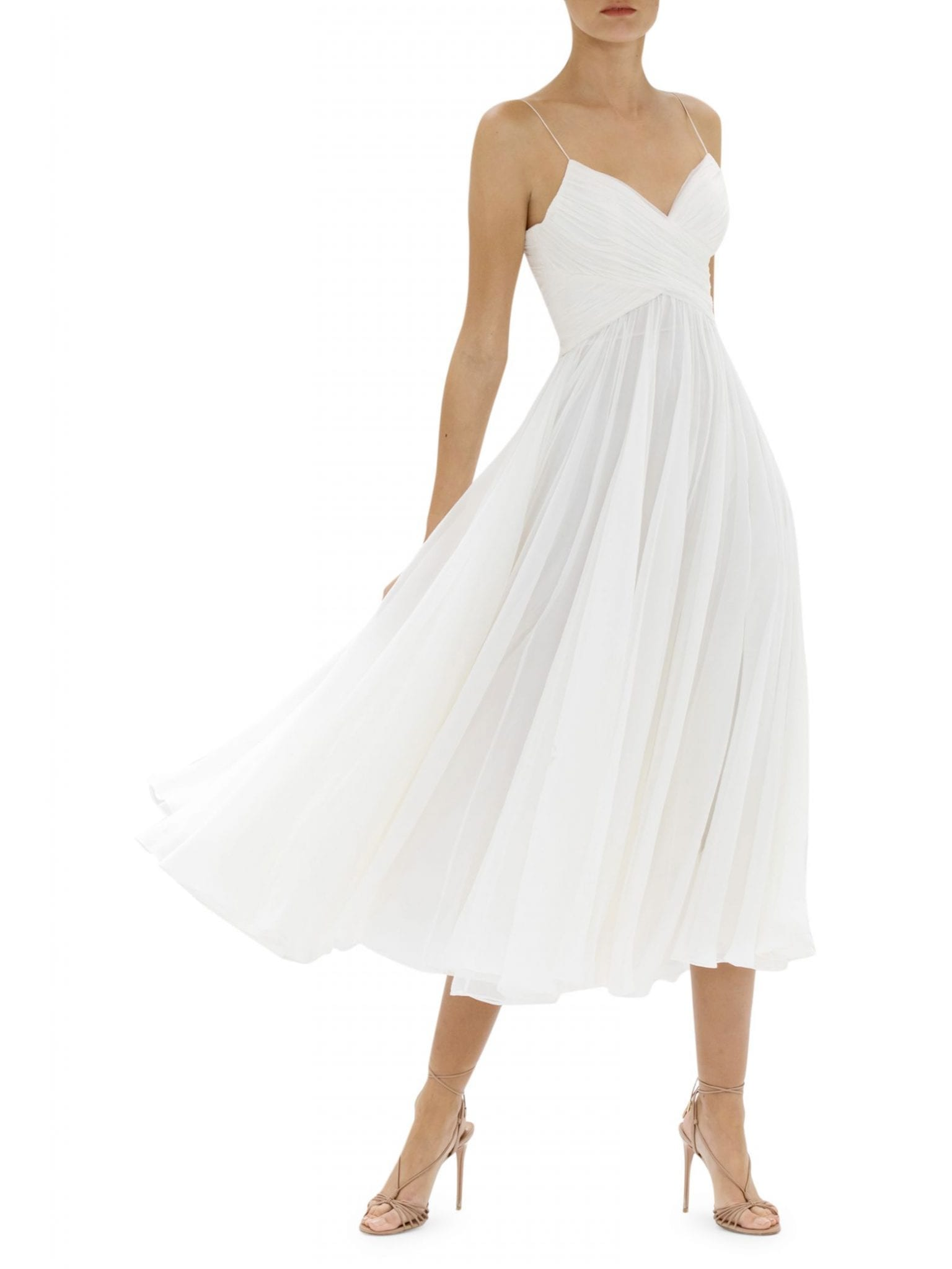 ALEXIS Sarrana Silk Midi Dress
