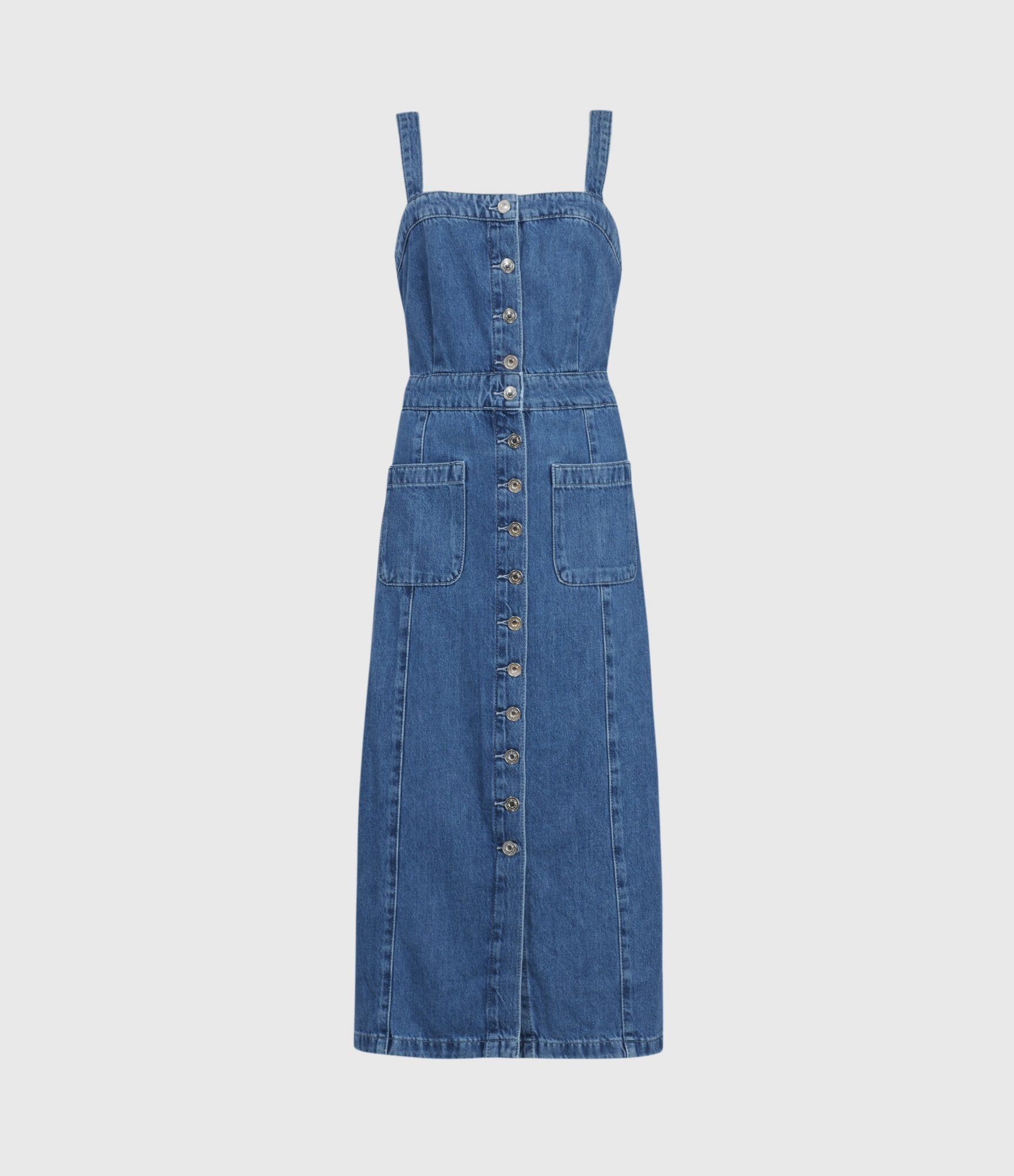 ALLSAINTS Elsie Denim Dress