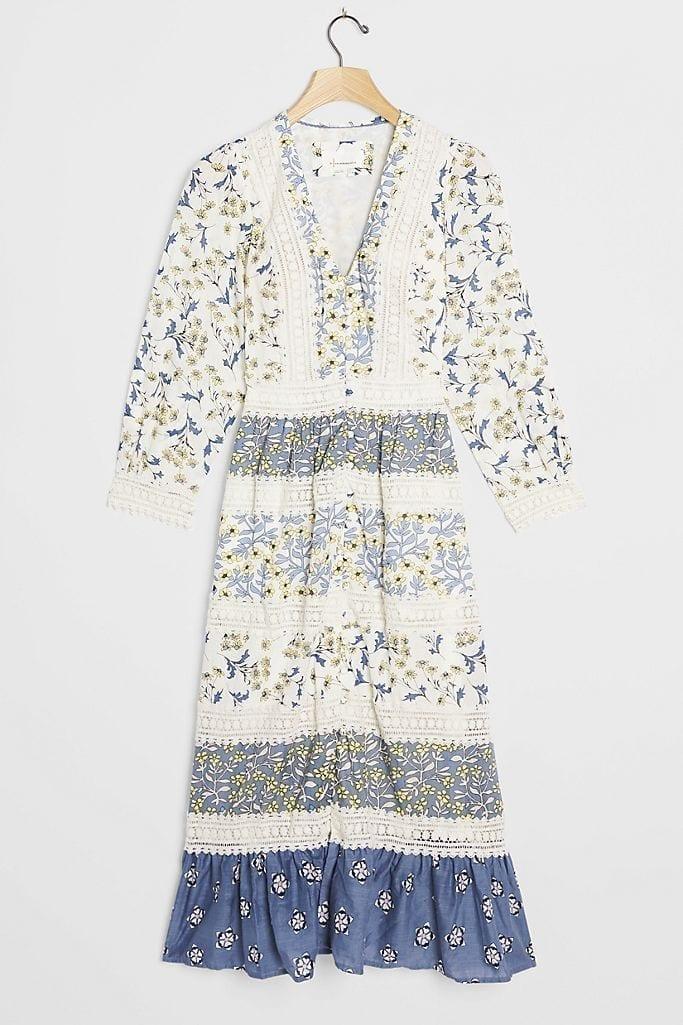 ANTHROPOLOGIE Roberta Maxi Dress