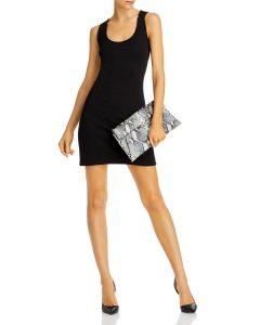 AQUA Sleeveless Sheath Dress