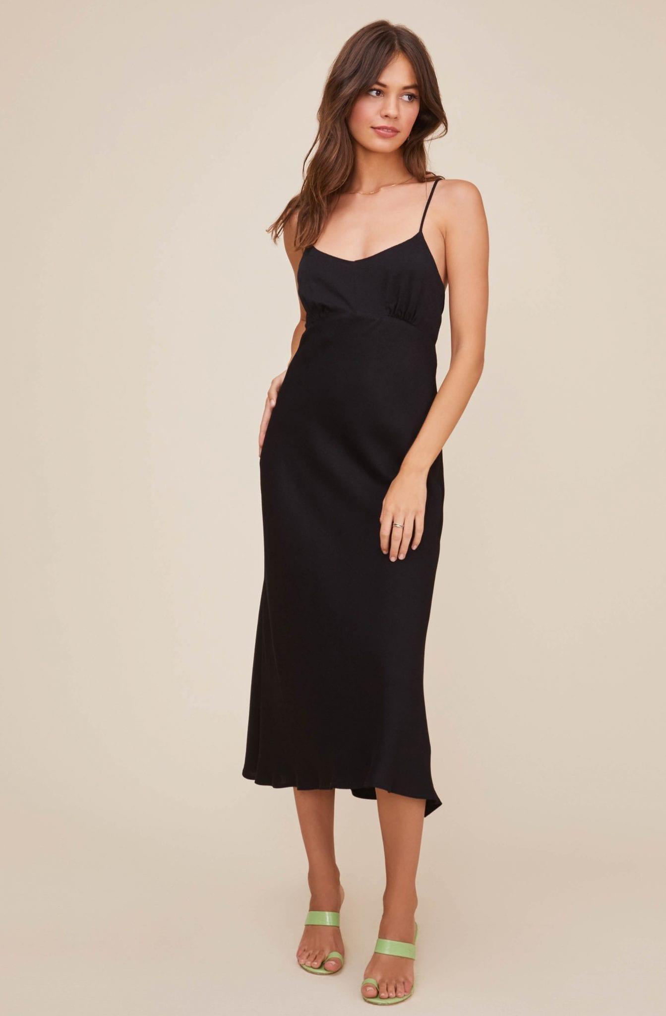 ASTR Charisma Midi Dress