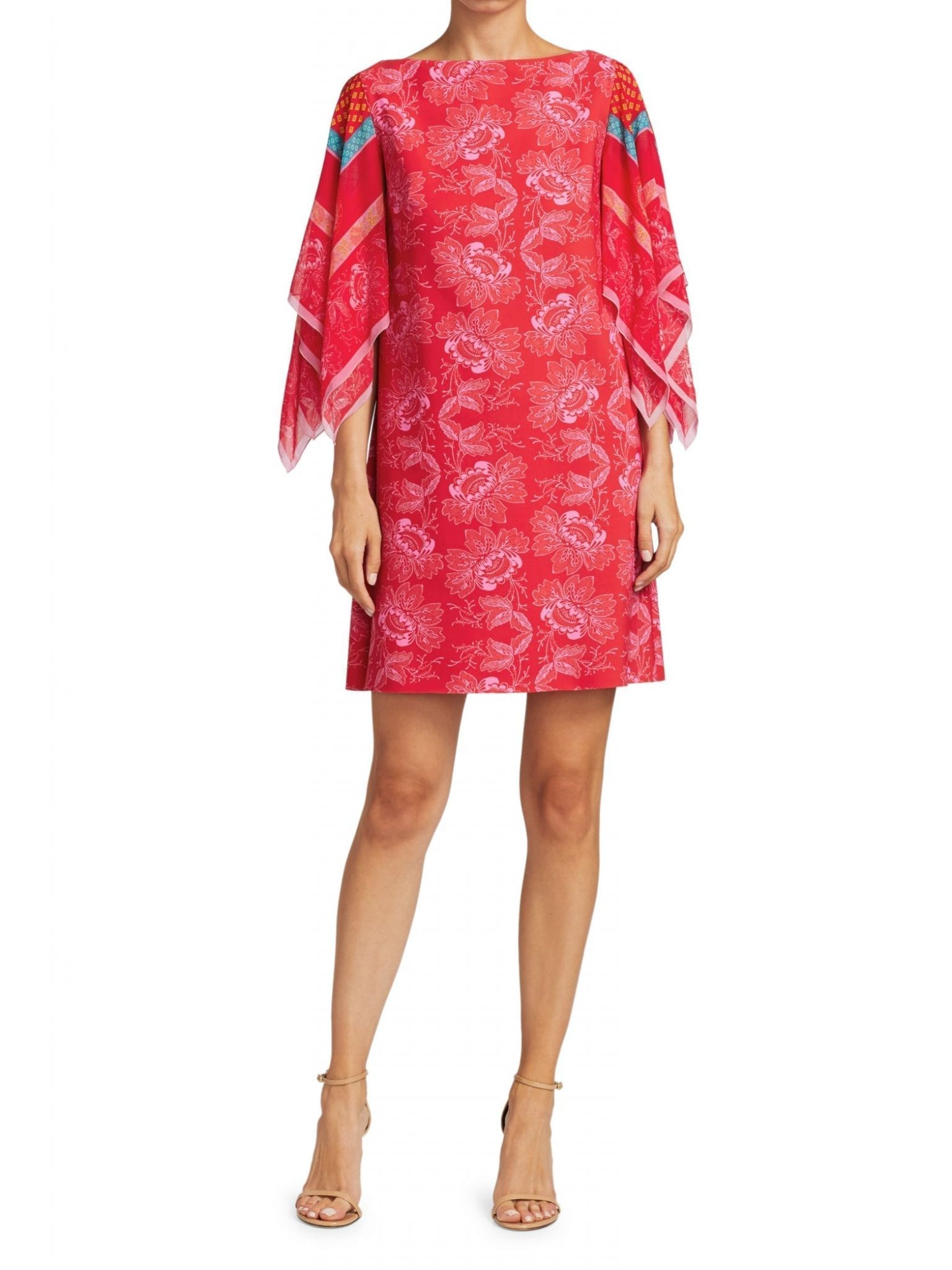 CHIARA BONI LA PETITE ROBE Karice Handkerchief-Sleeve Dress