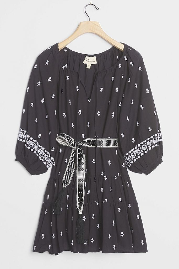 CLEOBELLA Sahra Embroidered Mini Dress