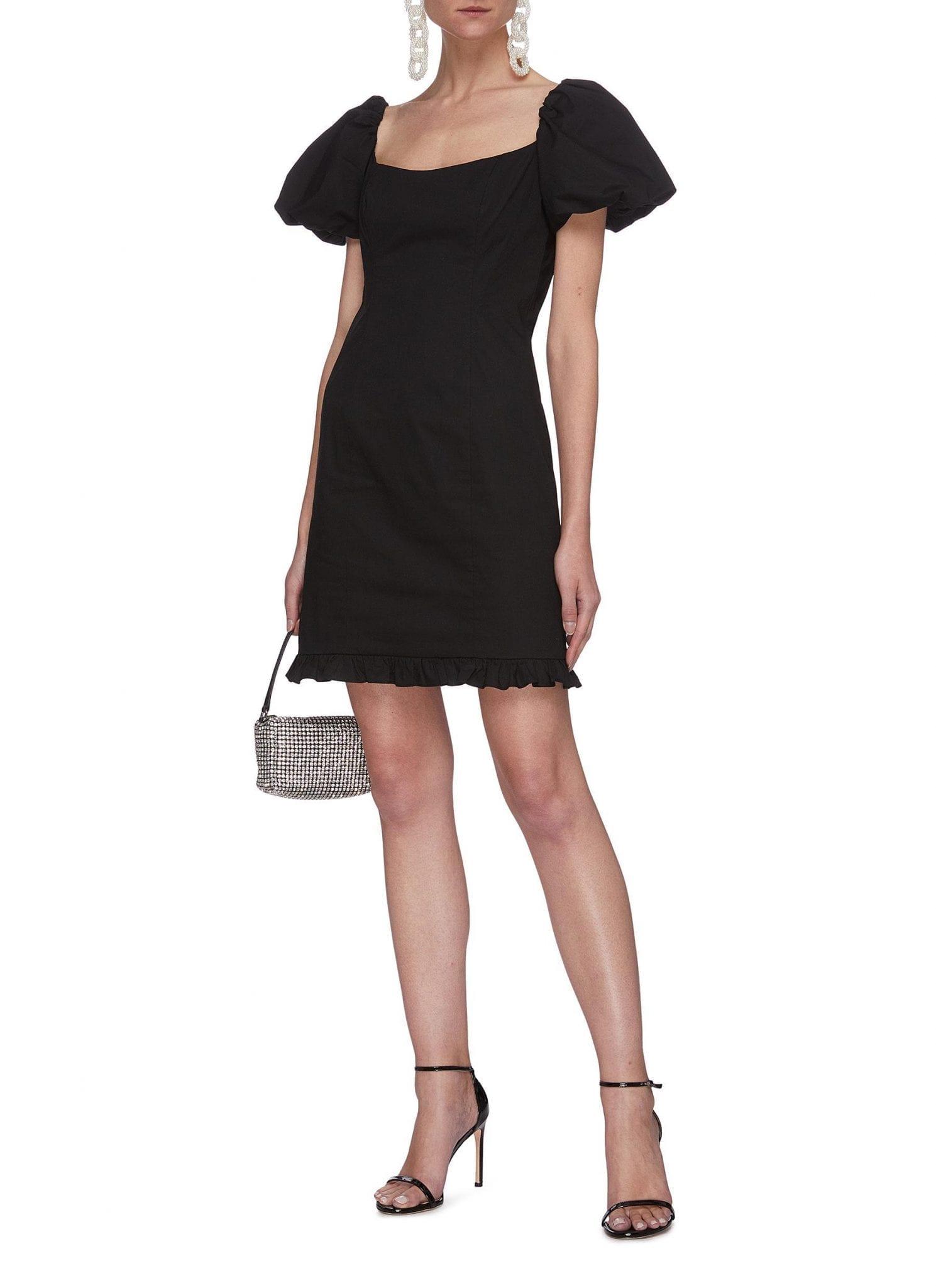 DE LA VALI Koko Cotton Mini Dress