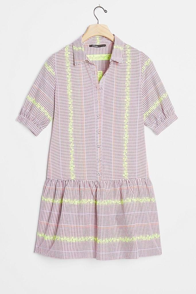 DEVOTION Efimia Flounced Tunic Dress