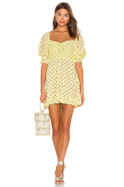 FAITHFULL THE BRAND Sage Mini Dress