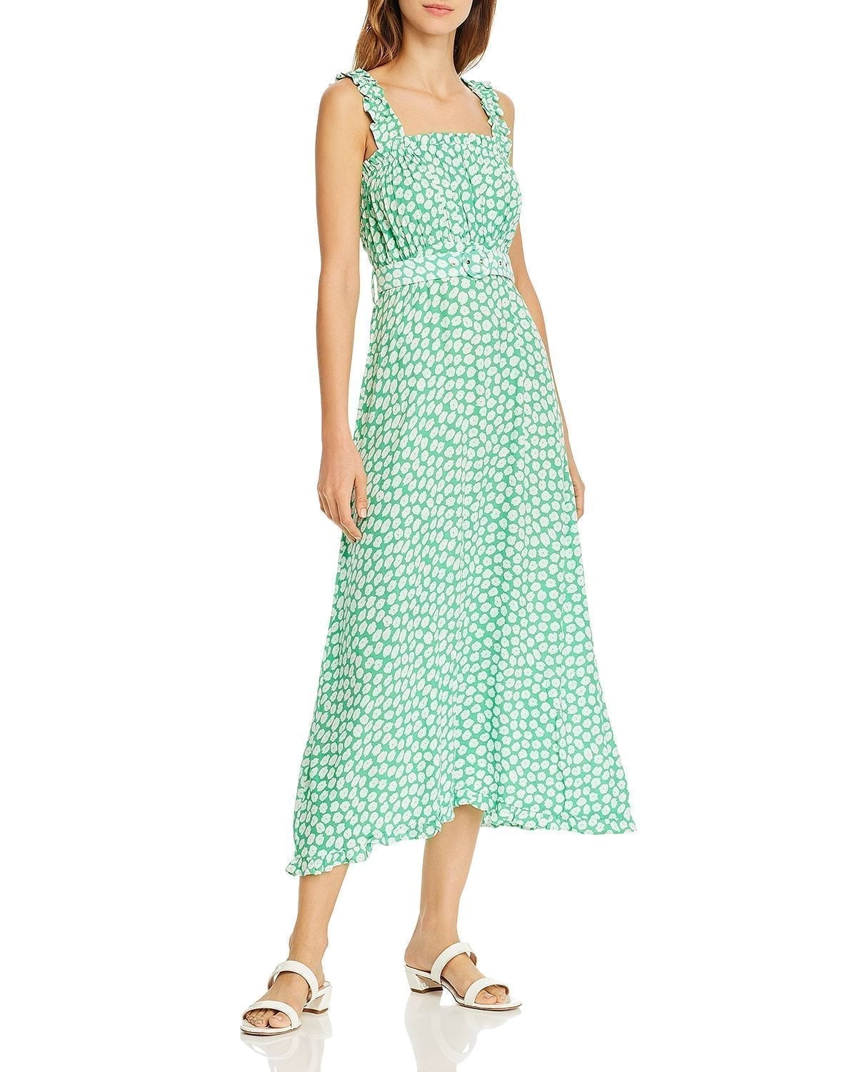 FAITHFULL THE BRAND St Tropez Ruffled Dress