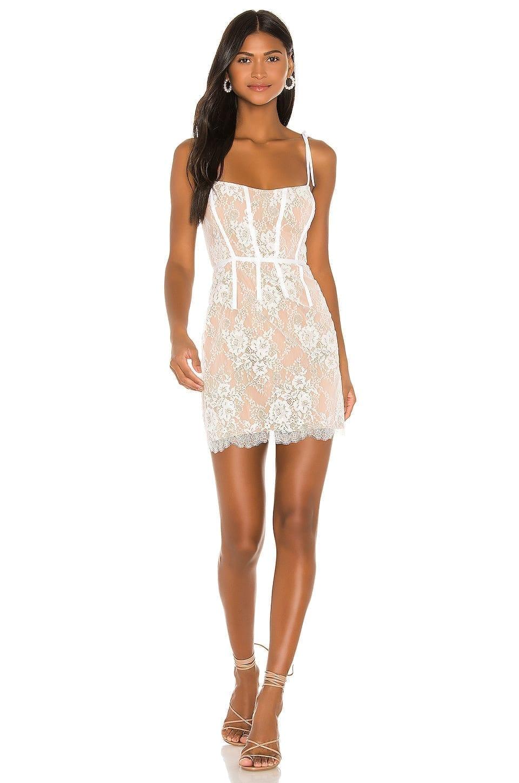 FOR LOVE & LEMONS Cheyenne Lace Mini Dress