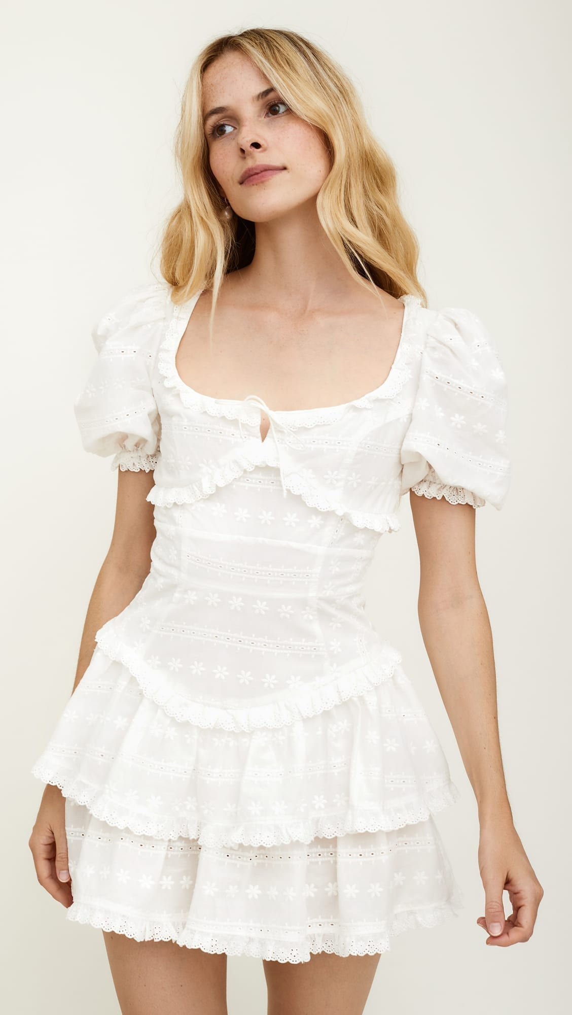 FOR LOVE & LEMONS Iris Mini Dress