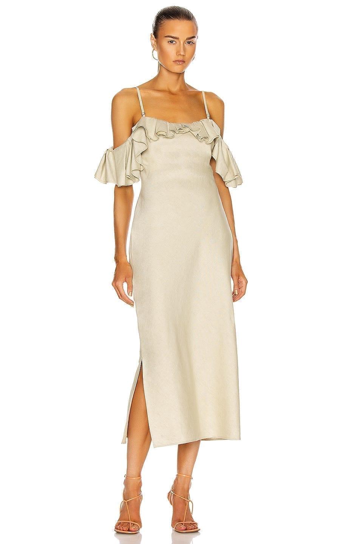 JACQUEMUS La Robe Pampelonne Dress