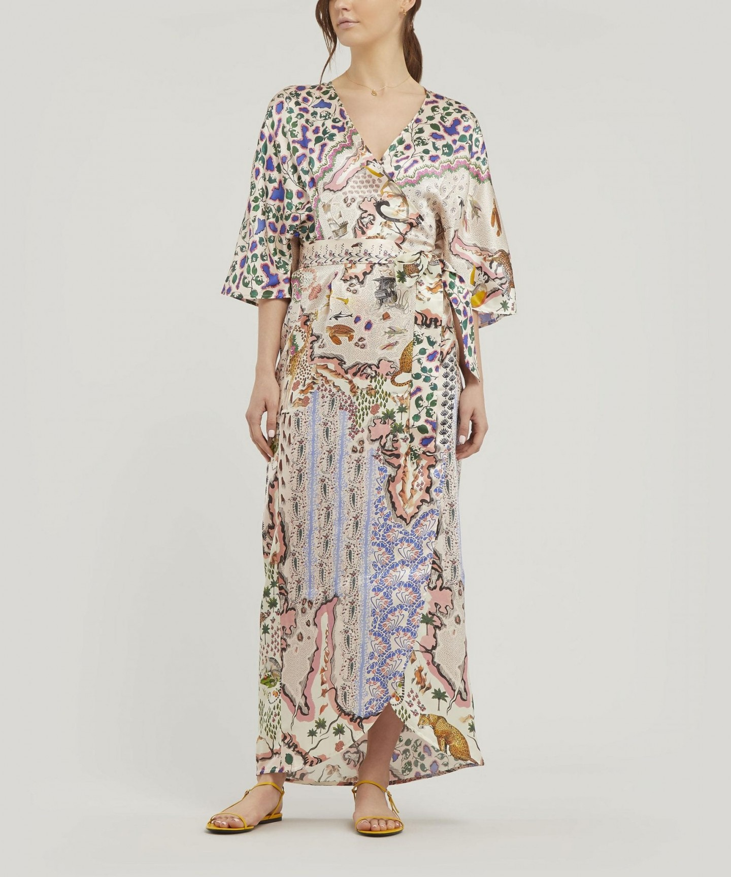 LIBERTY Sedona Silk Wrap Dress