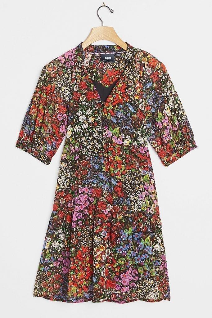 MAEVE Melinda Tiered Tunic Dress