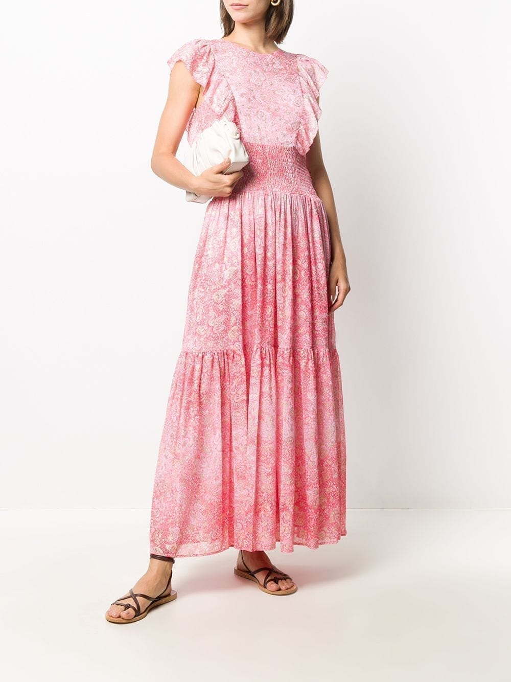 MICHAEL MICHAEL KORS Paisley Print Maxi Dress