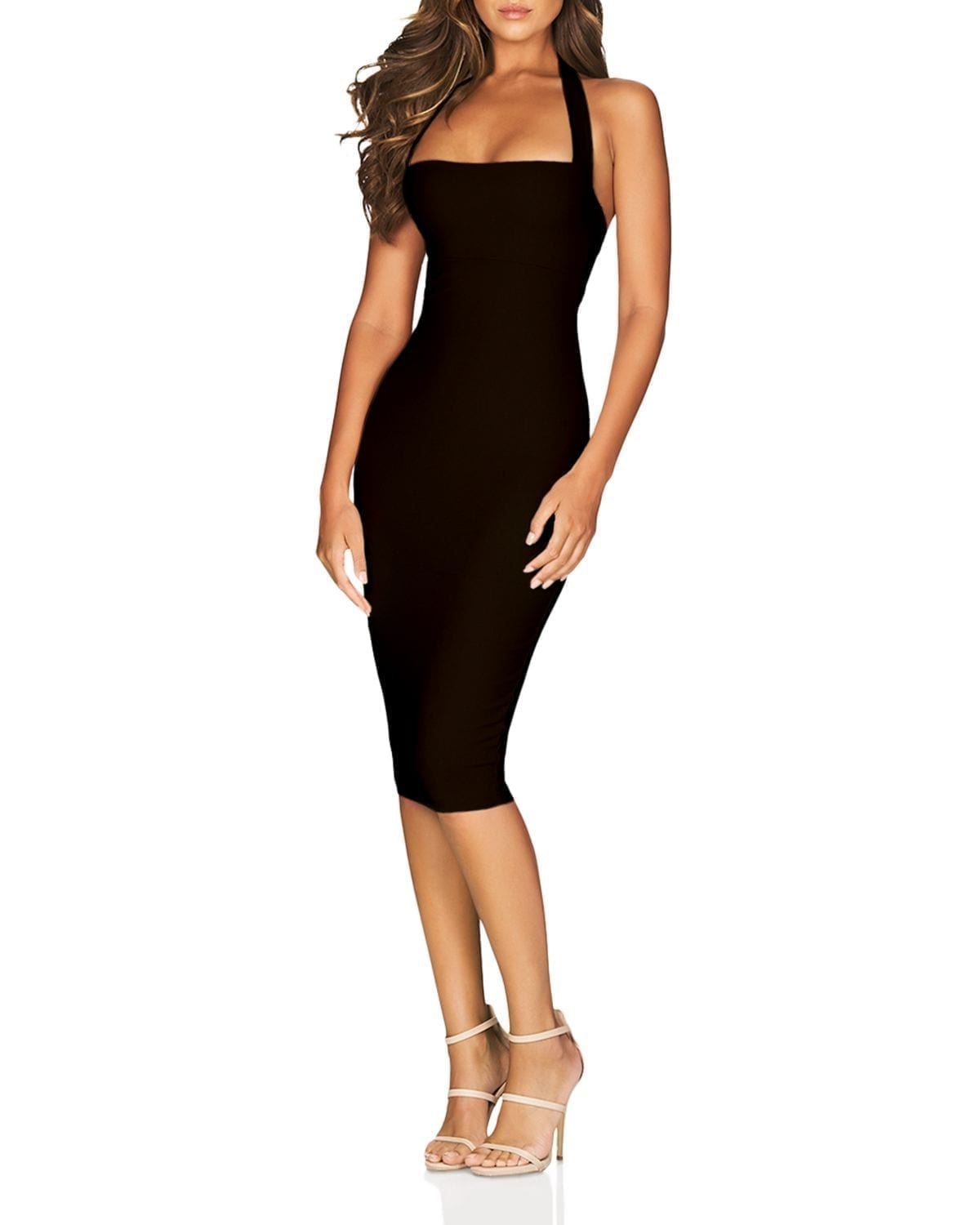 NOOKIE Boulevarde Bodycon Halter Dress