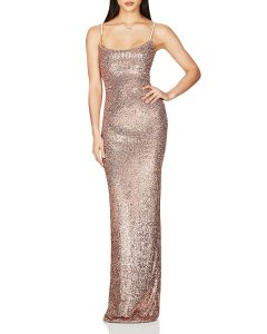 NOOKIE Lovers Sequined Evening Gown
