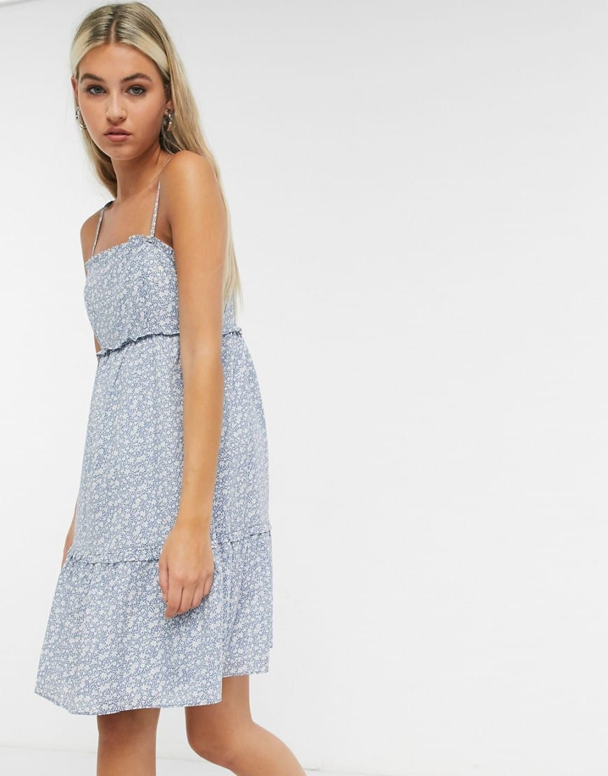 & OTHER STORIES Floral Print Cami Mini Dress