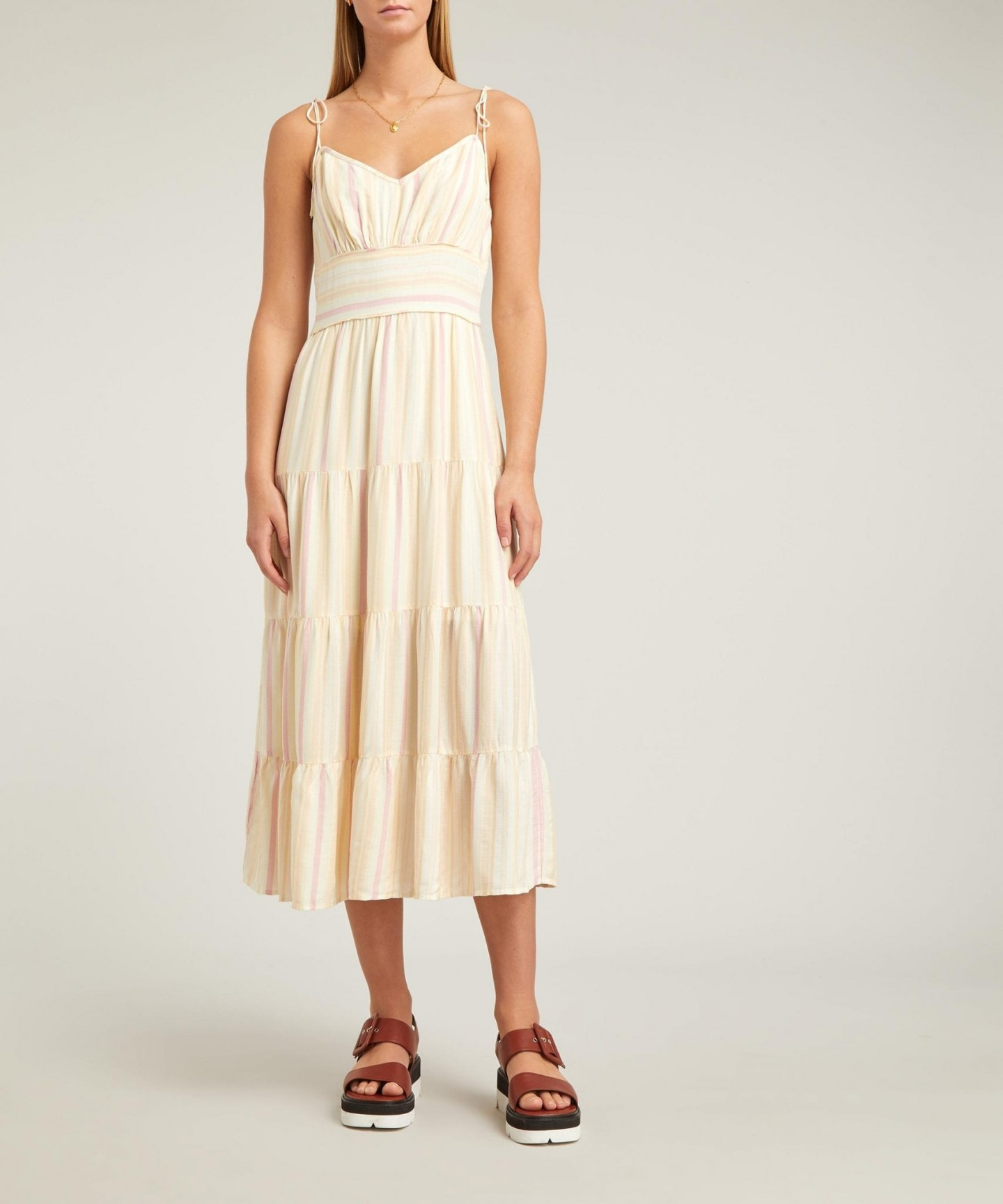 PAIGE Favella Striped Dress