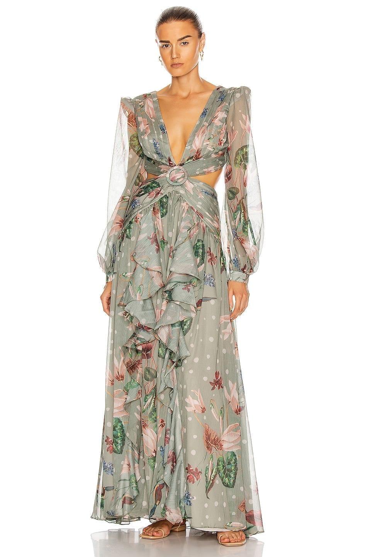 PATBO Sophia Cut-Out Maxi Dress