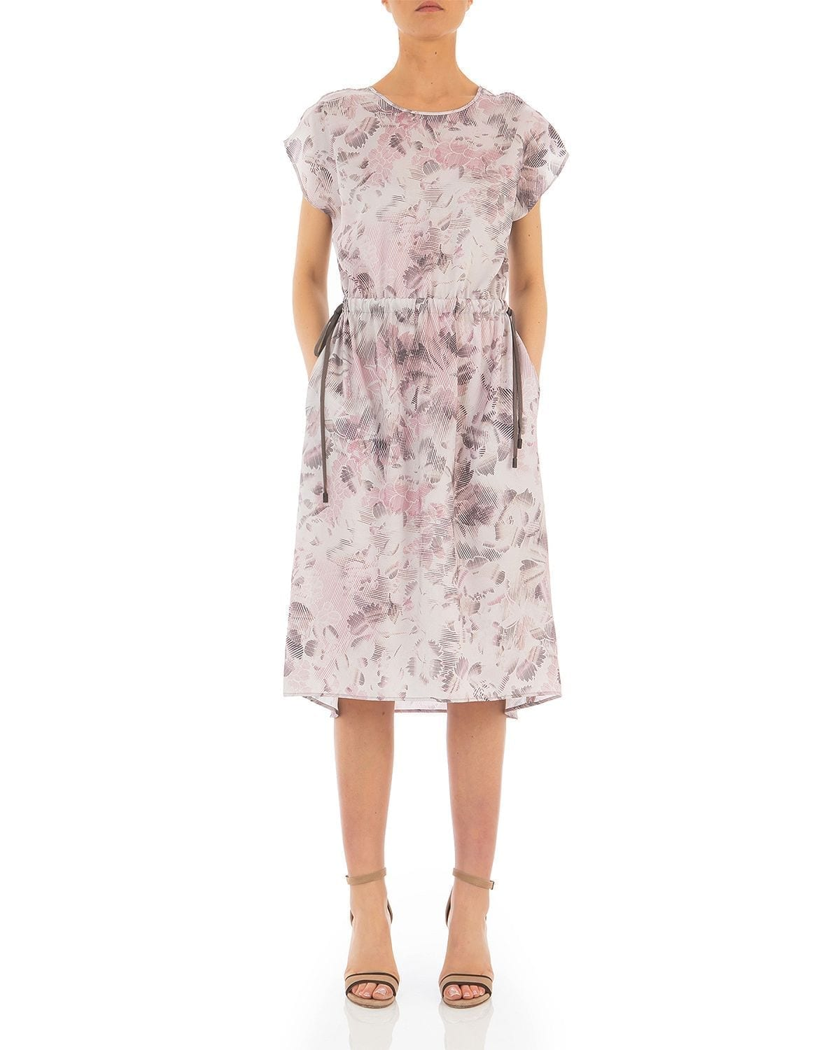PESERICO Floral Print Dress