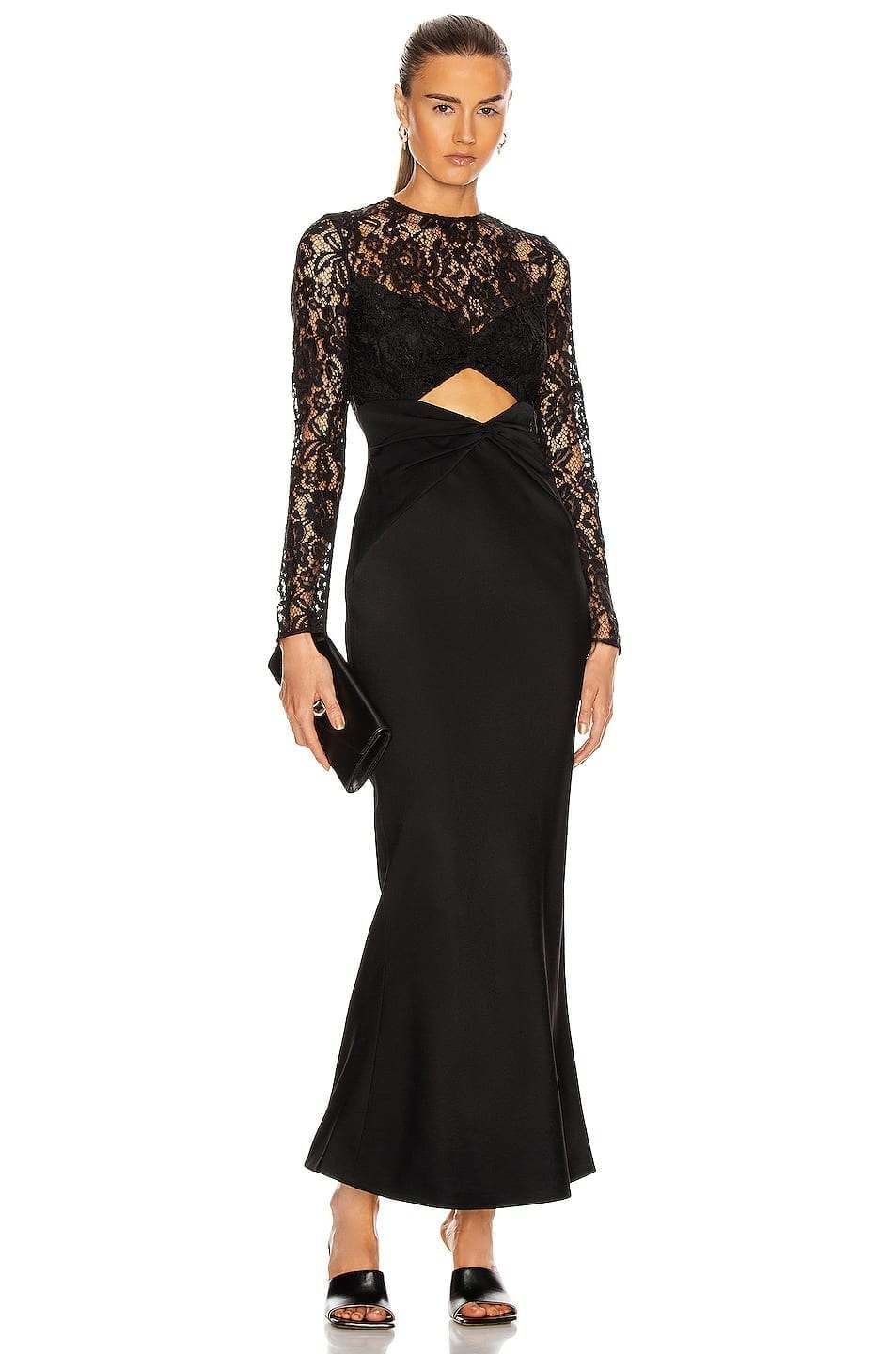RASARIO Cutout Maxi Dress