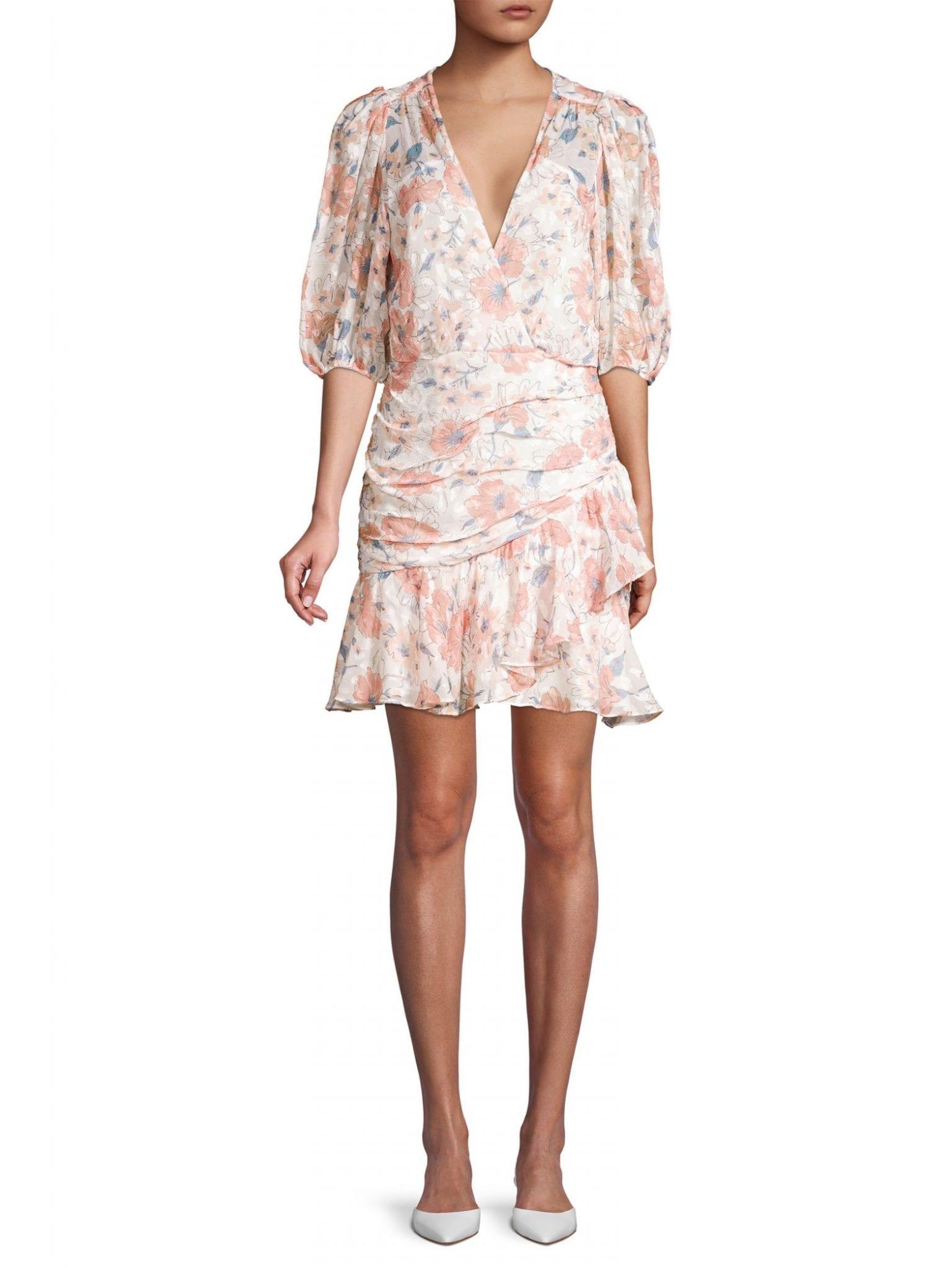 REBECCA TAYLOR Amelie Floral Dress