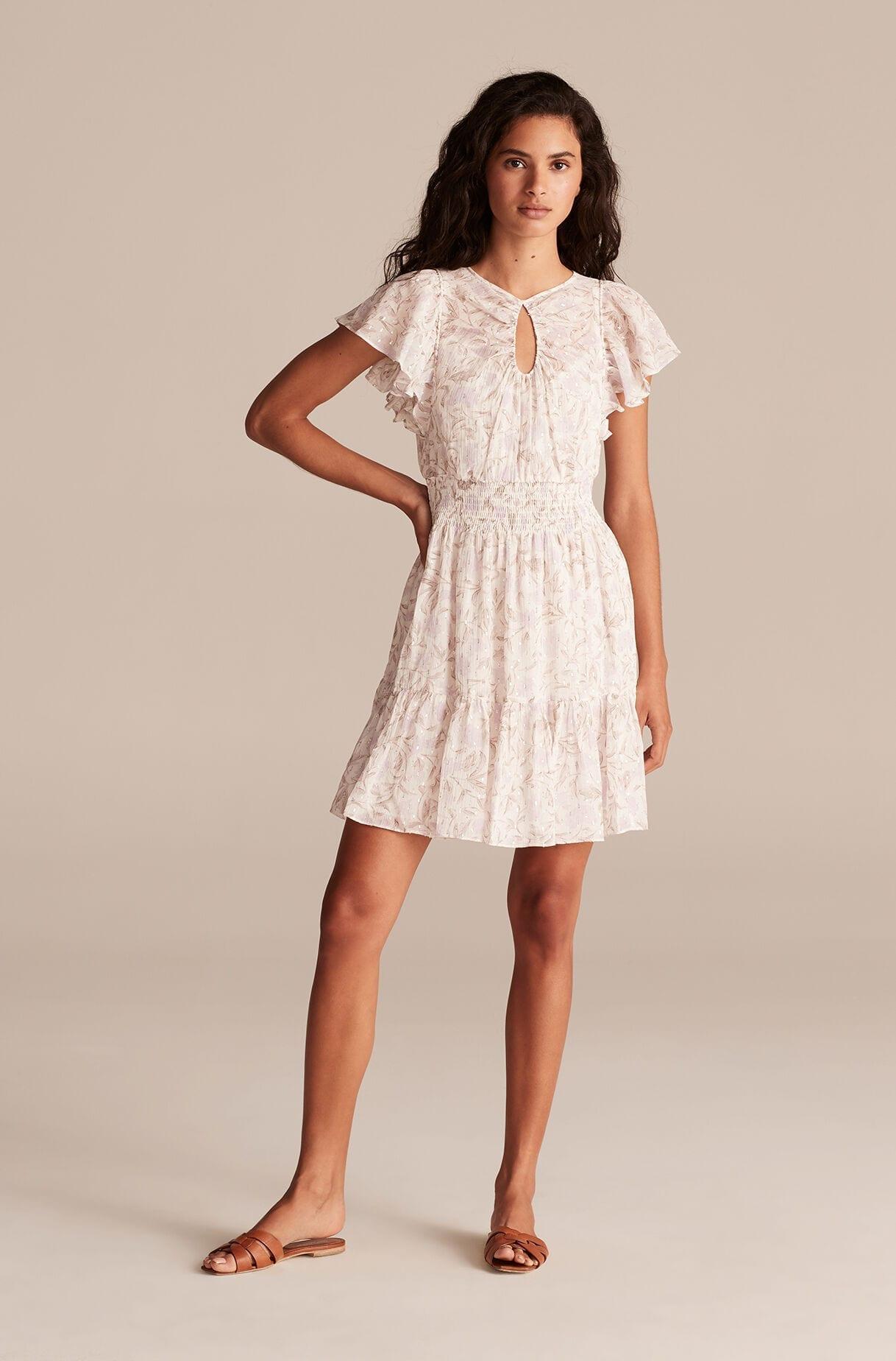 REBECCA TAYLOR Esmee Fleur Floral Tank Dress - We Select