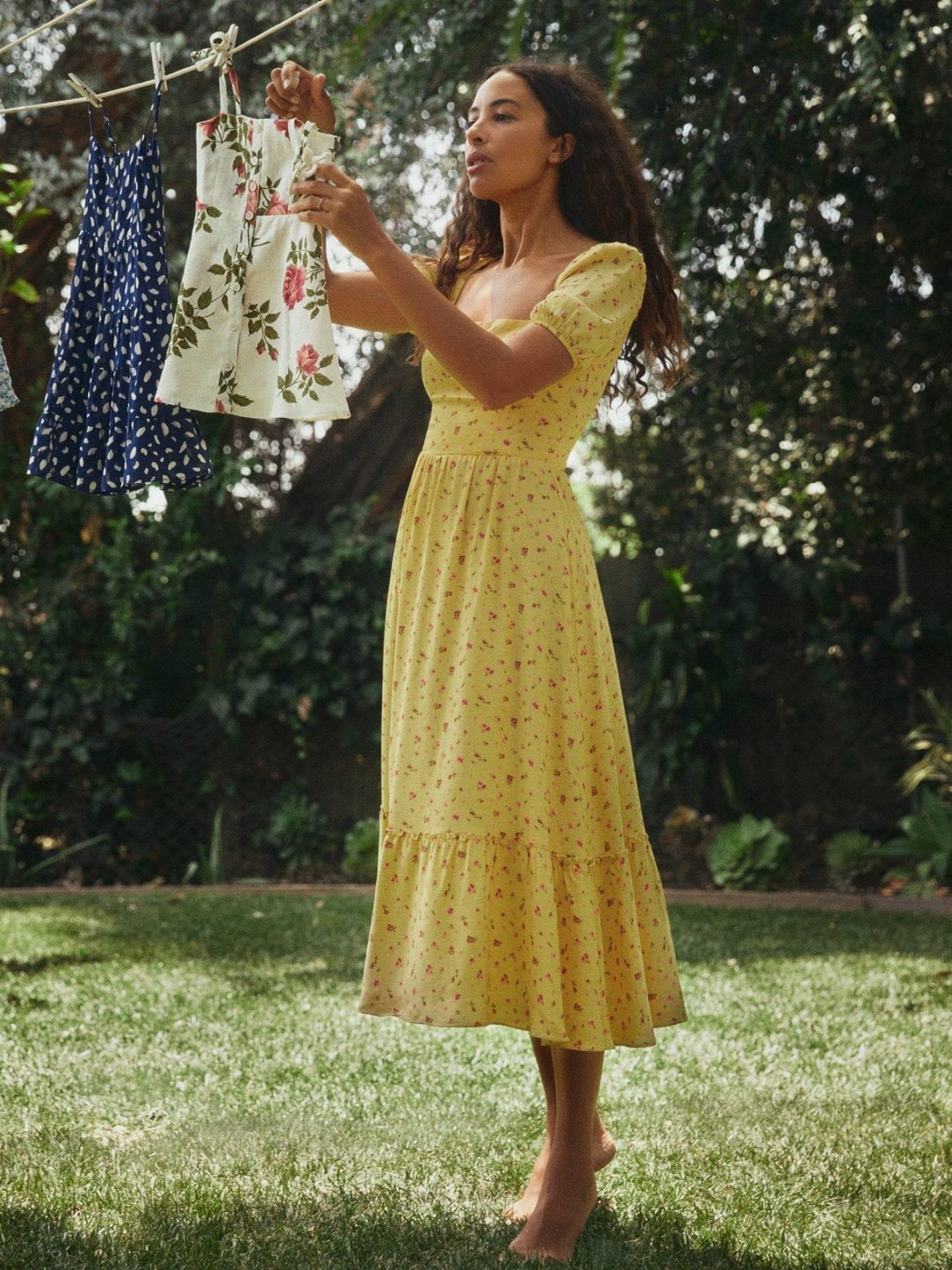 REFORMATION Abbie Dress