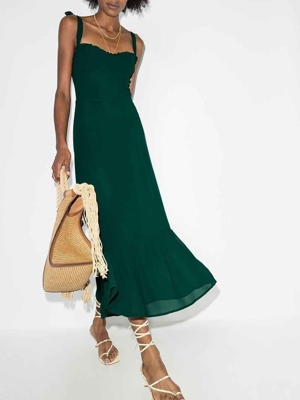 REFORMATION Nikita Midi Dress
