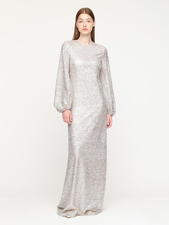 ROCHAS Sequined Long Dress