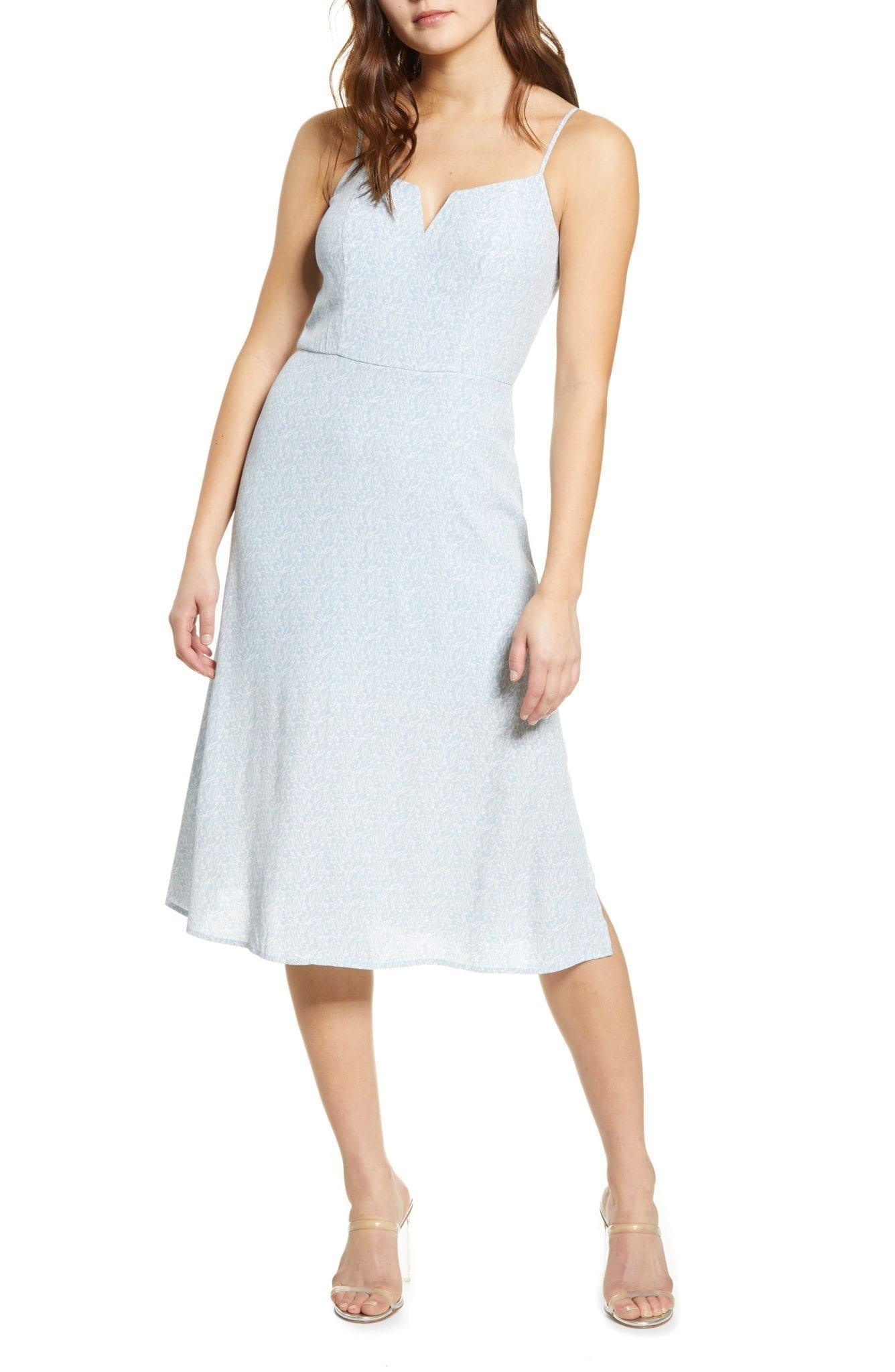 ROW A Notch Neck Sun Dress