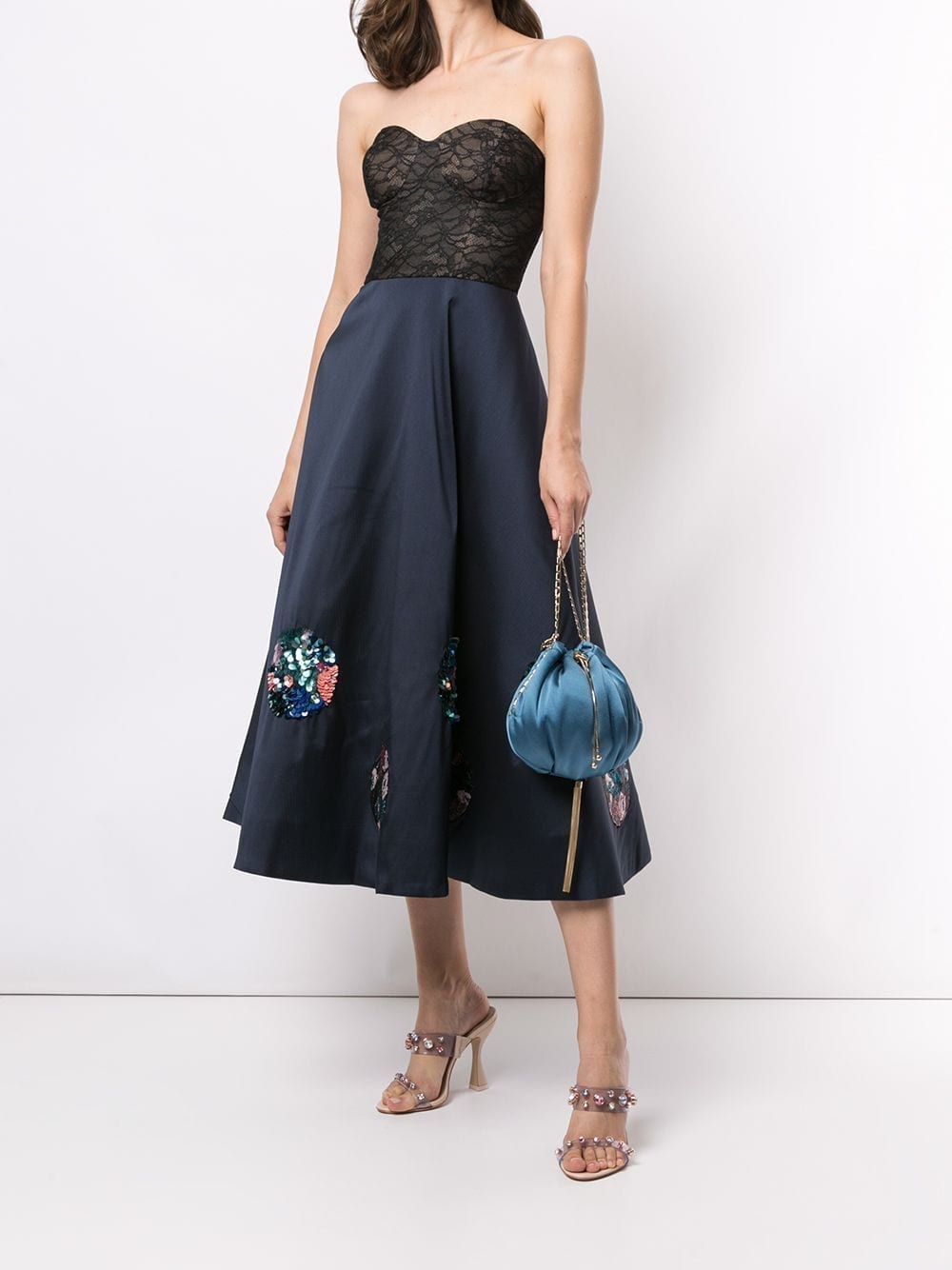 SACHIN & BABI Kristiana Flared Midi Dress