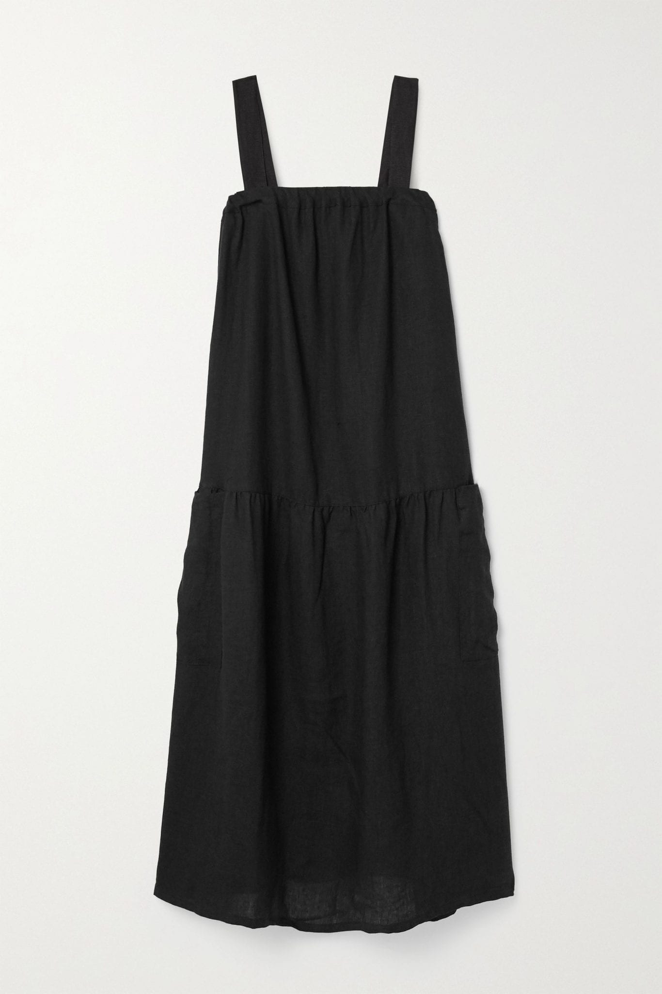 SUZIE KONDI Linen Midi Dress