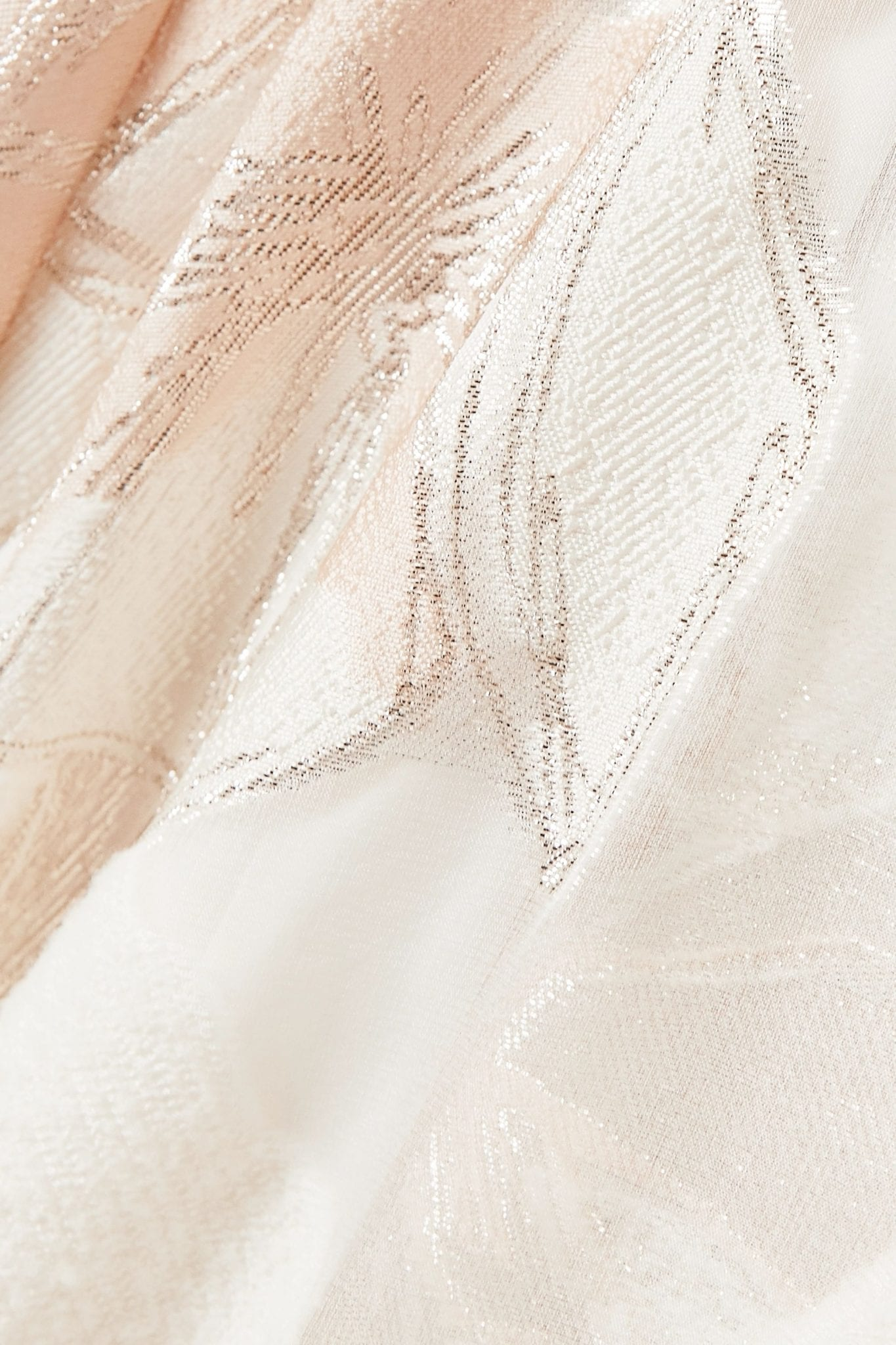 TALBOT RUNHOF Korbut Metallic Floral-jacquard And Organza Dress