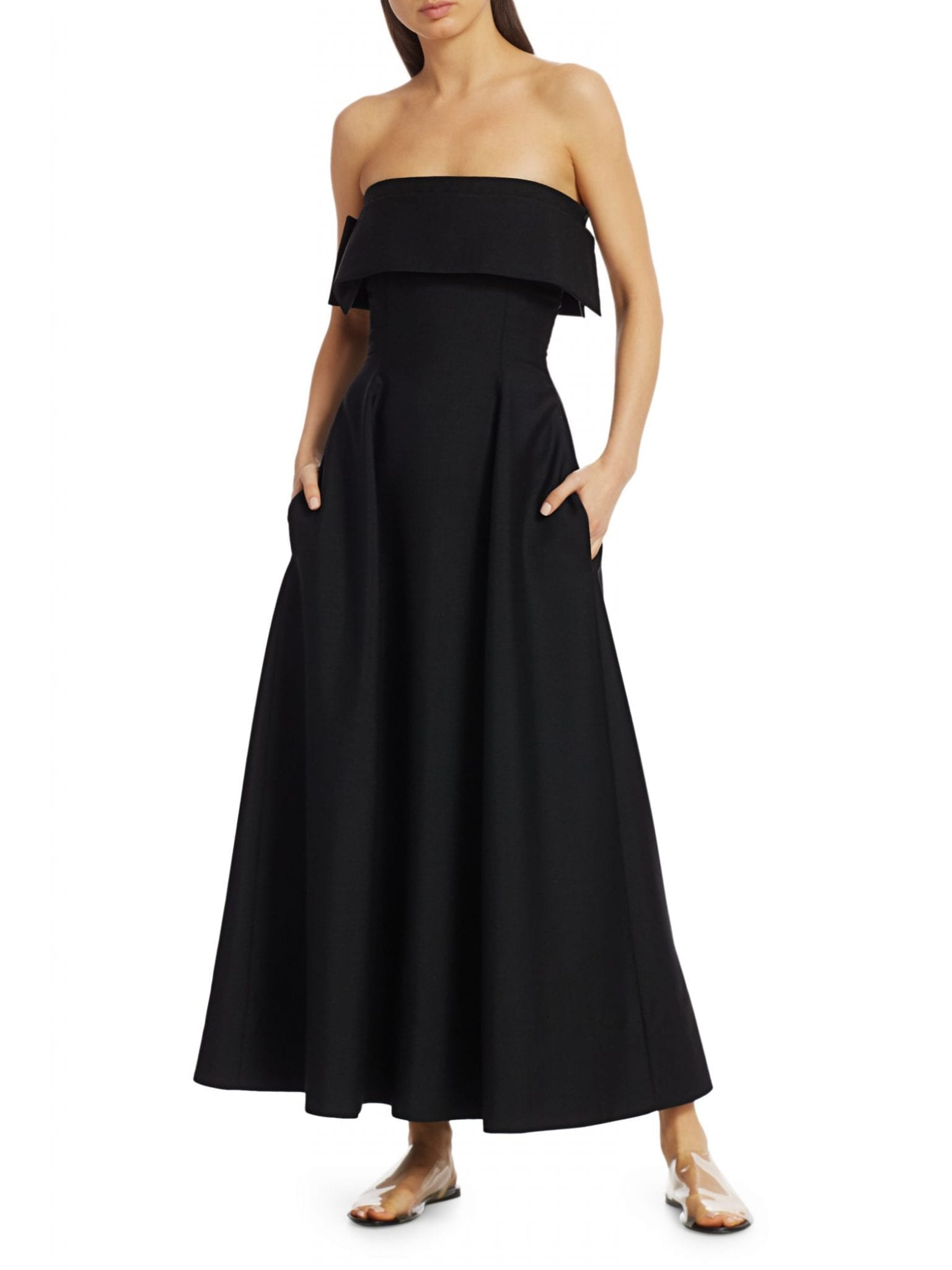 THE ROW Dario Mohair & Wool Dress