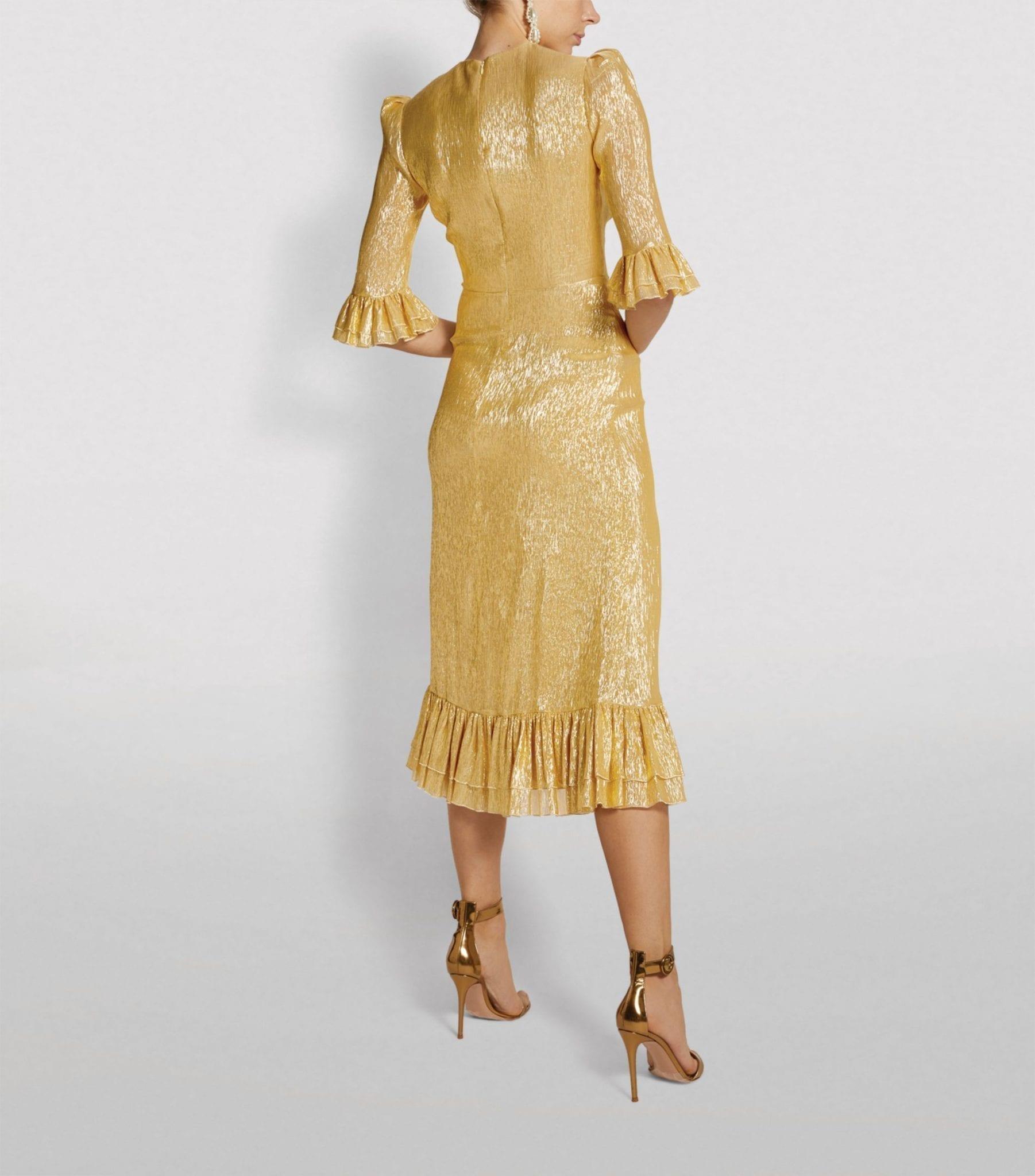 THE VAMPIRE'S WIFE Falconetti Midi Dress