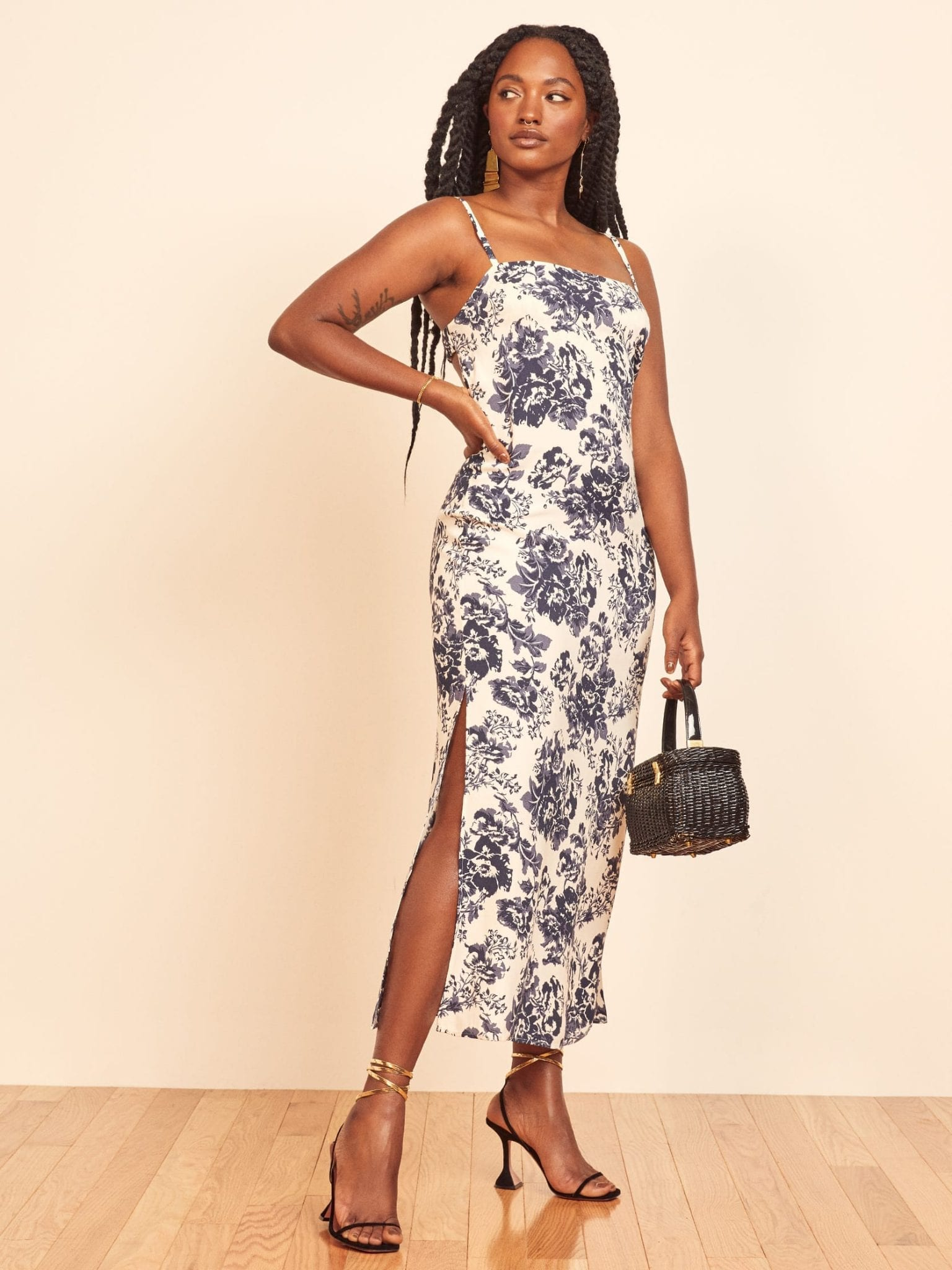 THEREFORMATION Bastien Dress