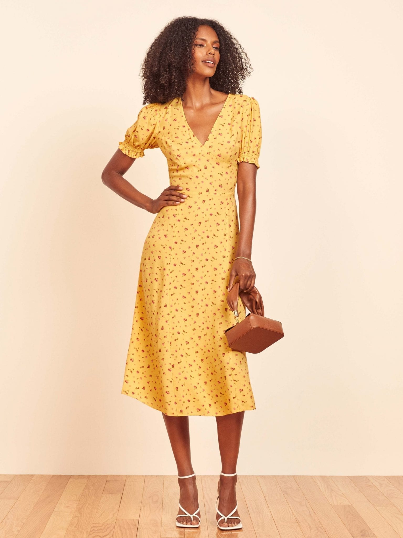 THEREFORMATION Bee Dress