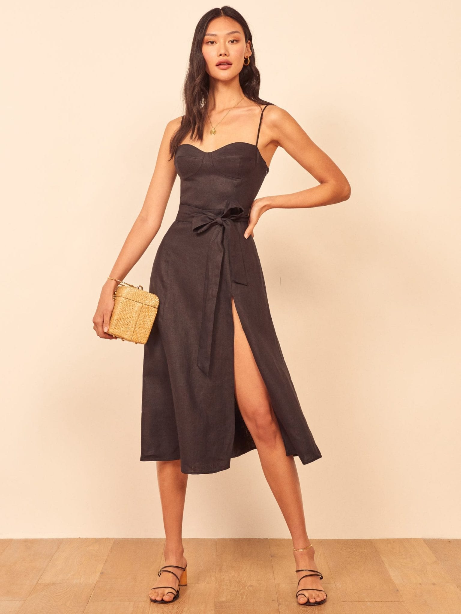 THEREFORMATION Jada Dress