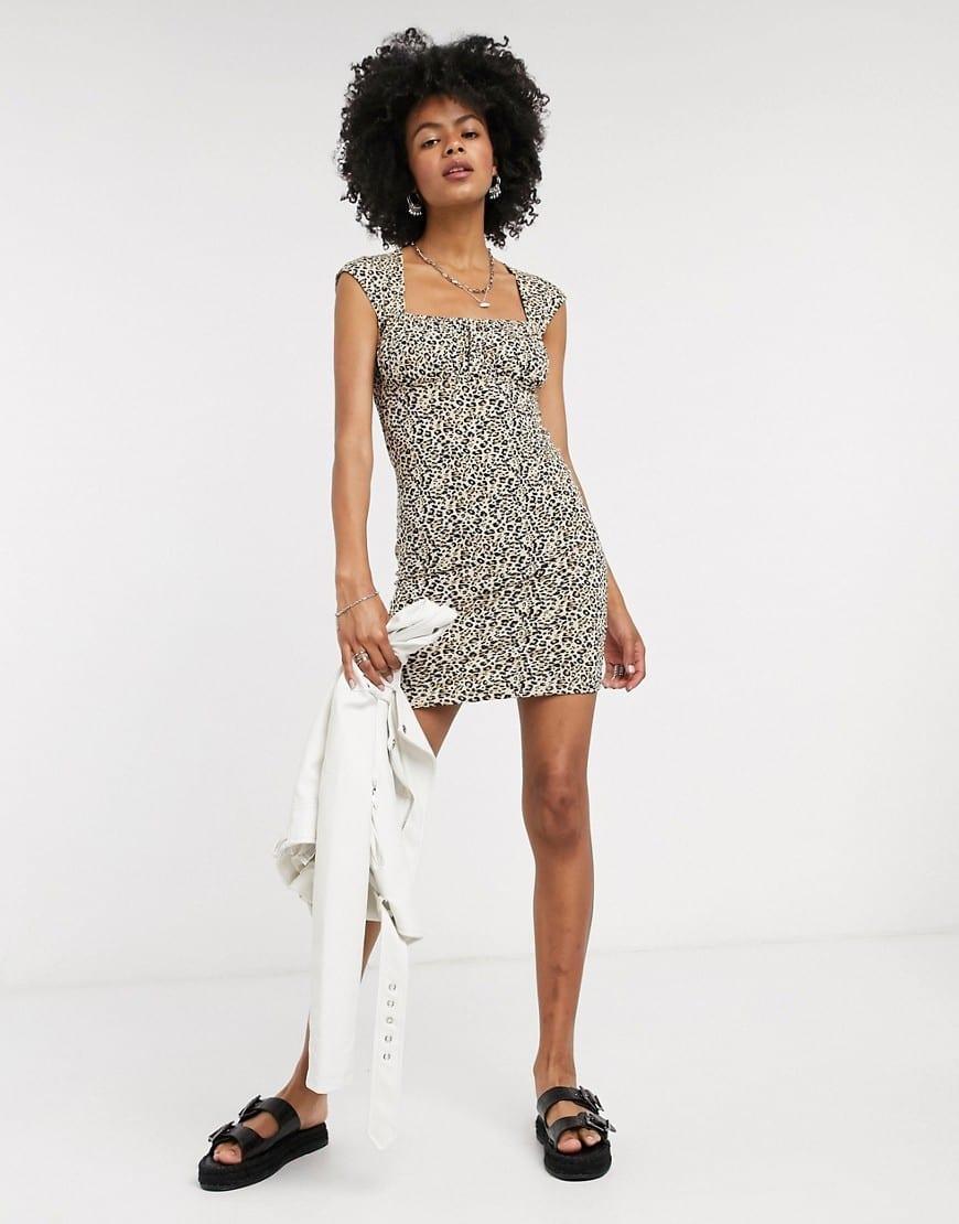 TOPSHOP Bodycon Mini Dress