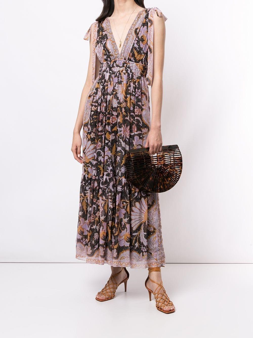ULLA JOHNSON Floral Print Annalise Dress