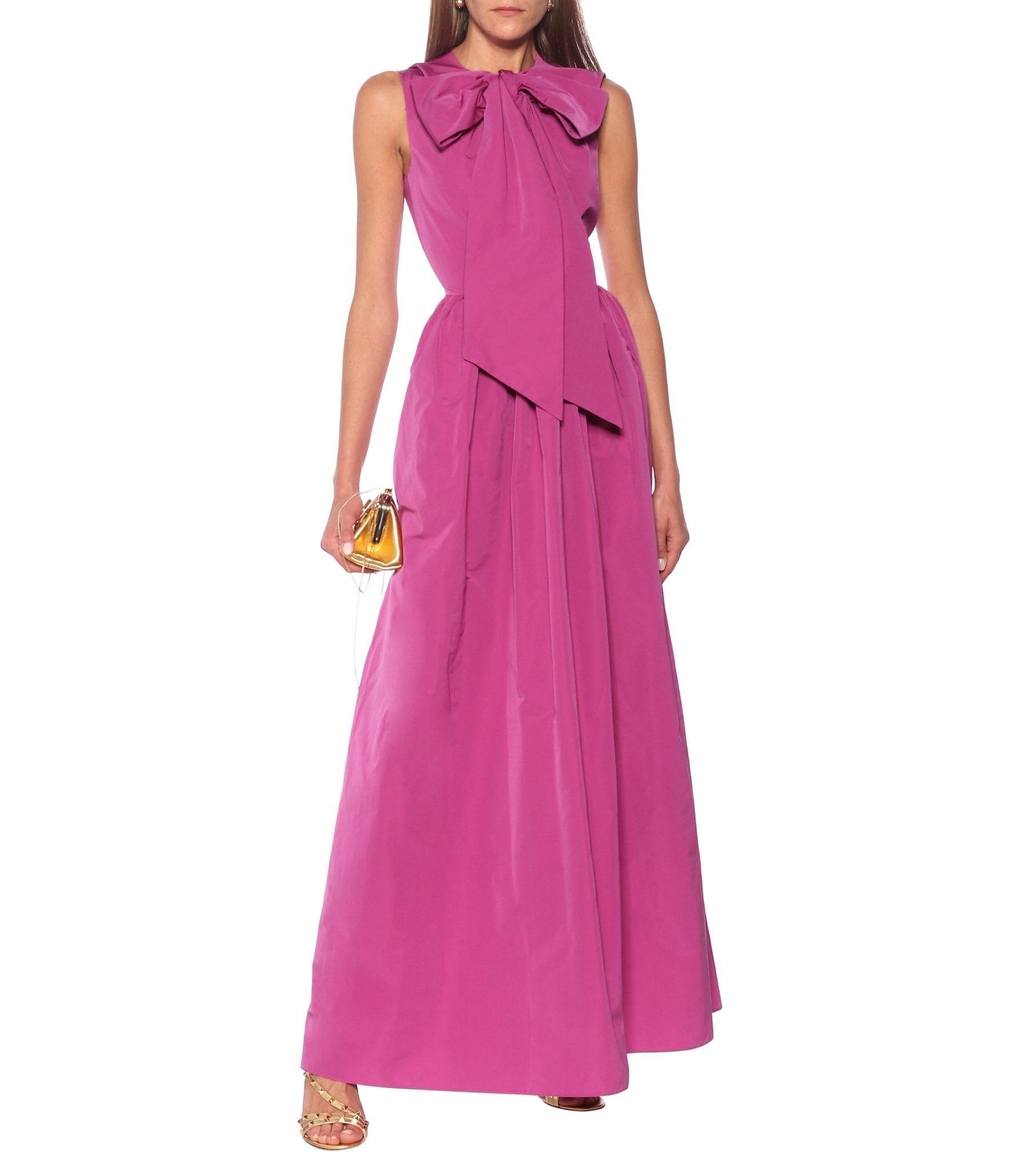 VALENTINO Taffeta Gown
