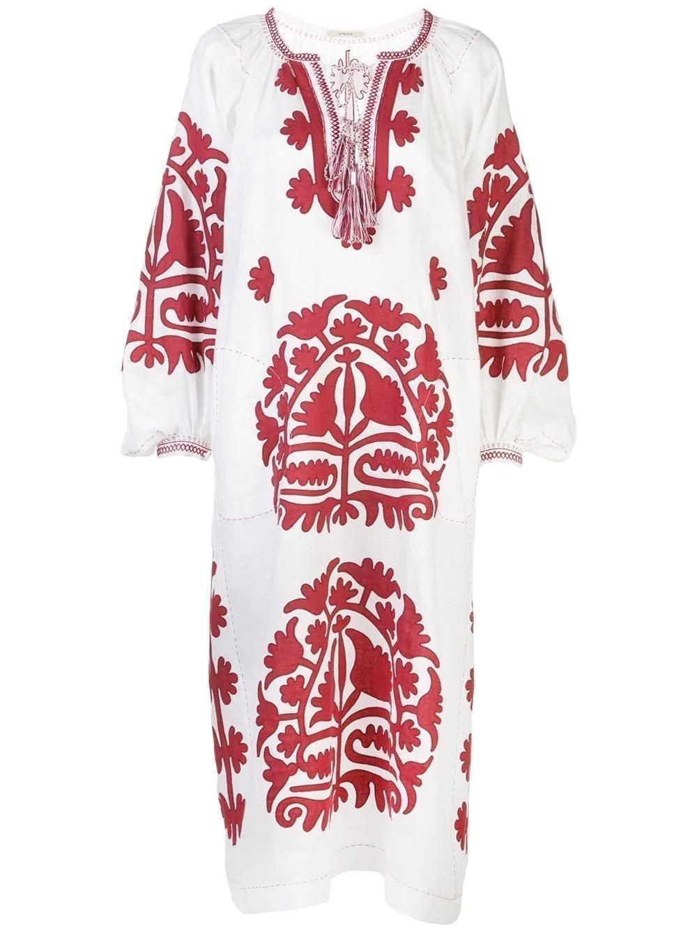 VITA KIN Shalimar Linen Dress