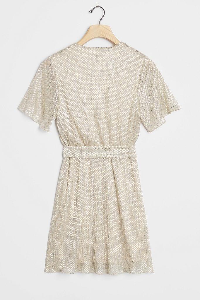 WAVERLY GREY Fante Shimmer Mini Dress